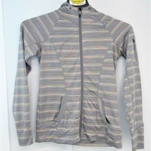 RBX Active Wear Jacket Womens Size Small Gray